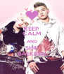 KEEP CALM AND SHIP BAEKREN - Personalised Poster A4 size