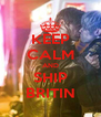 KEEP CALM AND SHIP BRITIN - Personalised Poster A4 size