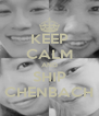 KEEP CALM AND SHIP CHENBACH - Personalised Poster A4 size