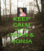 KEEP CALM AND SHIP DAAN & SONJA - Personalised Poster A4 size