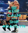KEEP CALM AND SHIP #DAITLYN - Personalised Poster A4 size