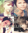KEEP CALM AND SHIP DALLIE - Personalised Poster A4 size