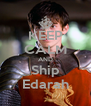 KEEP CALM AND Ship Edarah - Personalised Poster A4 size