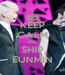 KEEP CALM AND SHIP EUNMIN - Personalised Poster A4 size