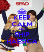 KEEP CALM AND SHIP HAESICA - Personalised Poster A4 size