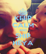 KEEP CALM AND SHIP HEYA - Personalised Poster A4 size