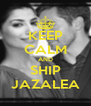 KEEP CALM AND SHIP JAZALEA - Personalised Poster A4 size
