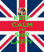 KEEP CALM AND SHIP LAFFY - Personalised Poster A4 size