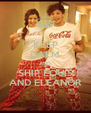 KEEP CALM AND SHIP LOUIS AND ELEANOR - Personalised Poster A4 size
