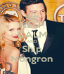 KEEP CALM AND Ship Mongron - Personalised Poster A4 size
