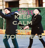KEEP CALM AND SHIP STONEFIELD - Personalised Poster A4 size