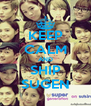 KEEP CALM AND SHIP SUGEN - Personalised Poster A4 size