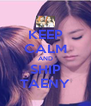KEEP CALM AND SHIP TAENY - Personalised Poster A4 size