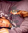 KEEP CALM AND SHIP ZIAM - Personalised Poster A4 size