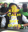 KEEP CALM AND SHIT GUYS - Personalised Poster A4 size