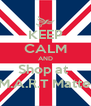 KEEP CALM AND Shop at  S.M.A.R.T Matters - Personalised Poster A4 size