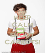 KEEP CALM AND SHOUT CARROTS! - Personalised Poster A4 size