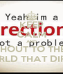 KEEP CALM AND SHOUT TO THE  WHOLE WORLD THAT DIRECTIONER   - Personalised Poster A4 size