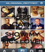KEEP CALM AND SHOW MY PICS LOVE!! - Personalised Poster A4 size