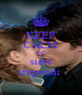 KEEP CALM AND siete stupendi  - Personalised Poster A4 size