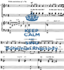 KEEP CALM AND SING Bohemian Rhapsody - Personalised Poster A4 size