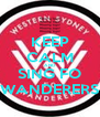 KEEP CALM AND SING FO WANDERERS - Personalised Poster A4 size