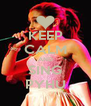 KEEP CALM AND SING PYHU - Personalised Poster A4 size
