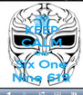 KEEP CALM AND Six One Nine 619 - Personalised Poster A4 size