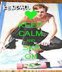 KEEP CALM AND SK8 ON - Personalised Poster A4 size