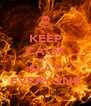 KEEP CALM AND SLAY EVERYONE - Personalised Poster A4 size