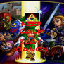 KEEP CALM AND SLAY  GANON - Personalised Poster A4 size