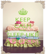 KEEP CALM AND SLEEP LIKE A PRINCESS - Personalised Poster A4 size