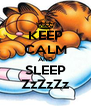 KEEP CALM AND SLEEP ZzZzZz - Personalised Poster A4 size