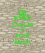 KEEP CALM AND smd bitch - Personalised Poster A4 size