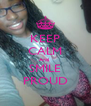 KEEP CALM And  SMILE PROUD - Personalised Poster A4 size