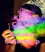 KEEP CALM AND Smoke Colorful :p - Personalised Poster A4 size