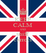 KEEP CALM AND sniff carrots - Personalised Poster A4 size