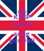 KEEP CALM AND snog goswell - Personalised Poster A4 size