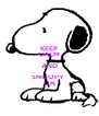 KEEP CALM AND SNOOPY  ON - Personalised Poster A4 size