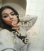 KEEP CALM AND SOKAIG KENEM A  KENYERET - Personalised Poster A4 size
