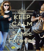 KEEP CALM AND SoMic Forever - Personalised Poster A4 size