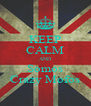 KEEP CALM AND Somos Crazy Mofos - Personalised Poster A4 size