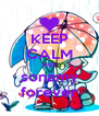 KEEP CALM AND sonamy forever - Personalised Poster A4 size