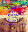 KEEP CALM AND Sono Io La Parrucchiera - Personalised Poster A4 size