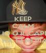 KEEP CALM AND SONO IO O IL CAPPELLO CHE HA 13 MI PIACE? - Personalised Poster A4 size