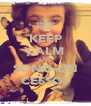KEEP CALM AND SONO UN CESSO! - Personalised Poster A4 size