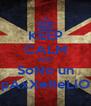 KEEP CALM AND SoNo un pAxXeReLlO - Personalised Poster A4 size