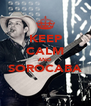 KEEP CALM AND SOROCABA  - Personalised Poster A4 size
