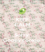 KEEP CALM AND Sorry  Gooey cookie  - Personalised Poster A4 size