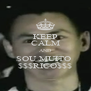 KEEP CALM AND SOU MUITO  $$$RICO$$$ - Personalised Poster A4 size